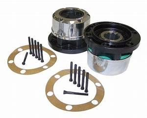 10 Spline Manual Locking Hub Set  U2013 On The Rox