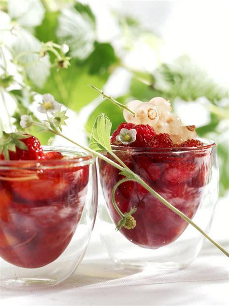 cuisine gingembre recette salade de fraises au sirop de gingembre cuisine
