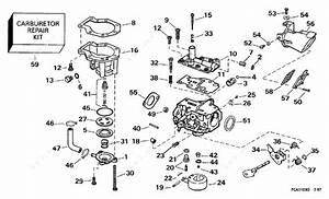 Johnson 1997 9 90 - J10fexeua  Carburetor 15 H P