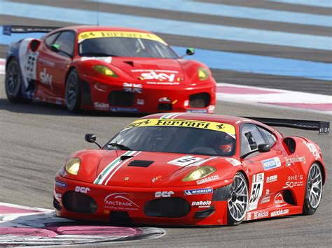 F430gt by 2007 F430 Gt Race Racing Supercar G T Wallpaper