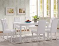 white kitchen table and chairs White Kitchen Table And Chairs — The New Way Home Decor : Decorating Kitchen with White Kitchen ...