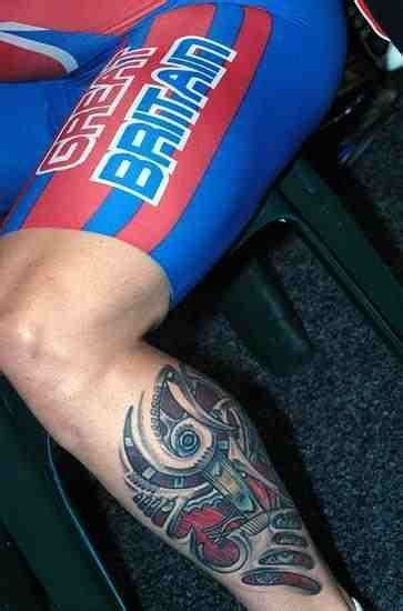 nice cycling tattoo  bikes  pinterest