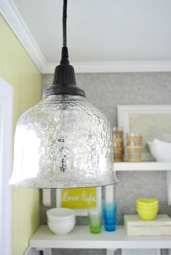 spray paint  pendant lights cord canopy young house love