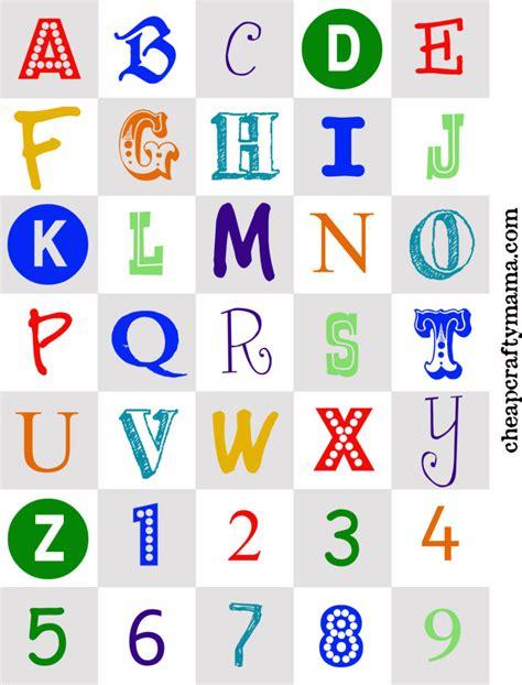free printable colored alphabet letters www pixshark com