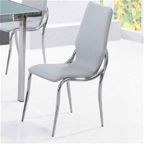 chaises de cuisine design chaise de cuisine grise