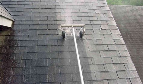 slate roof cleaning working method  prices