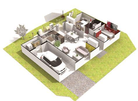prix maison plain pied 3 chambres maison 3 chambres plain pied quartz logivelay