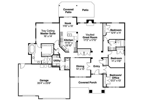 basement house plans house plans craftsman with basement style ranch two
