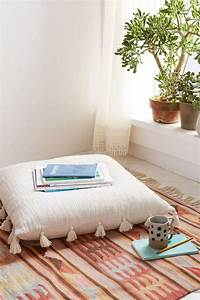 coussins de sol pour tous les styles et pieces de la maison With tapis de sol avec coussin pour canape interieur