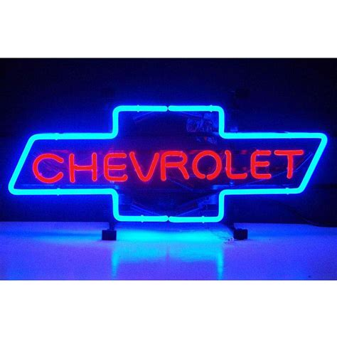Chevrolet Neon Sign by Chevrolet Bowtie Neon Sign By Neonetics In Neon Signs