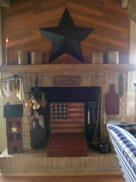 Primitive Decorating Ideas For Fireplace by 1000 Images About By Hearth And Candle Light On