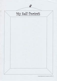 template for self portrait language 301 | b0077ae2c0cd2176fb4d5ba083659def