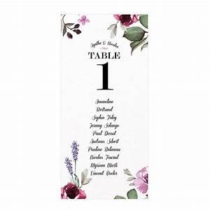 Plan De Table Mariage Gratuit : plan de table de mariage sous forme de carte personnalis e provence ~ Melissatoandfro.com Idées de Décoration