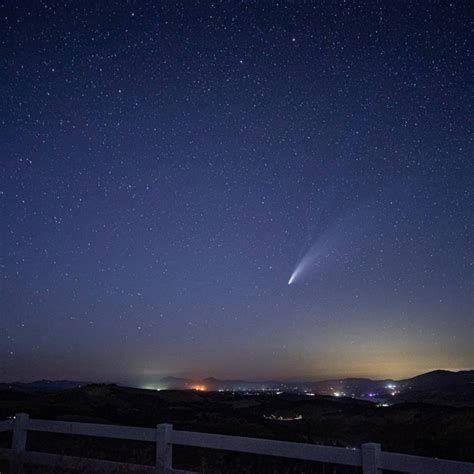 locals photograph comet neowise  north county paso robles daily news