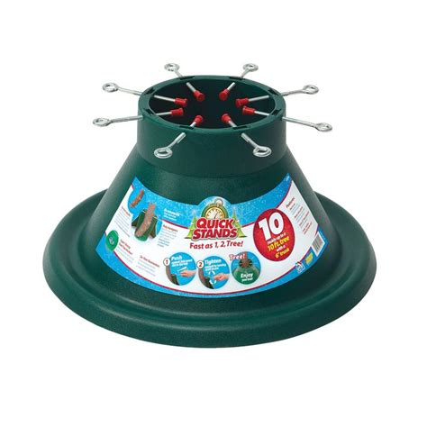 12 christmas tree stand santa s solution ultimate steel tree stand for live trees up to 12 ft 300001352 the home