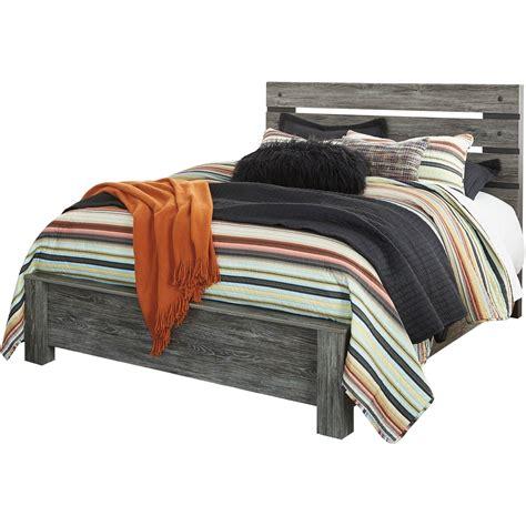 signature design  ashley cazenfeld panel bed beds