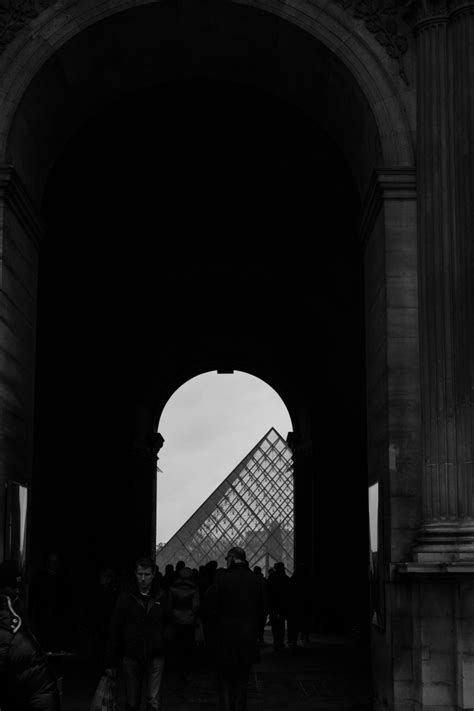Paris In Black & White  Tangledinmaps