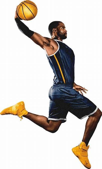 Basketball Nba Player Dunking Clipart Dunk Slam