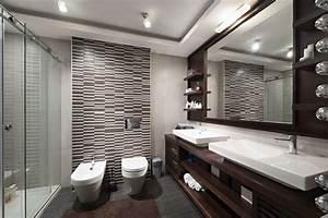 50, Sleek, Modern, Master, Bathroom, Ideas, For, 2019