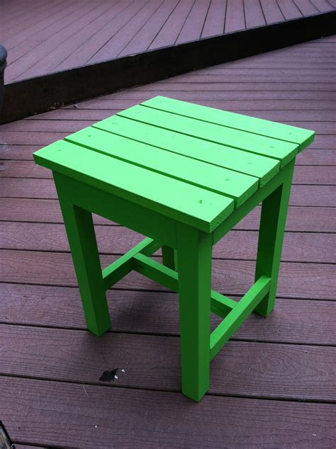 ana white adirondack  table diy projects