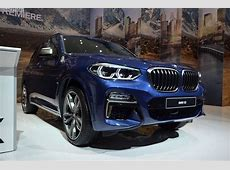 IAA 2017 BMW X3 M40i G01 in Phytonic Blue – LiveFotos