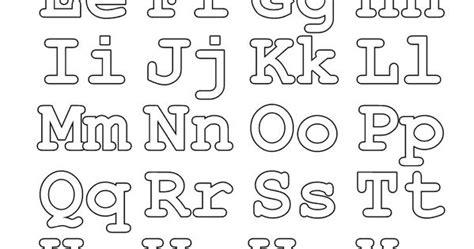 Abecedario para colorear Letras mayúsculas y minúsculas