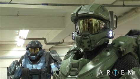 Halo 4 Master Chief Armour Making Of Youtube