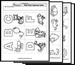 language worksheets alphabet review
