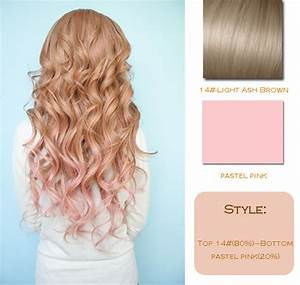 The gallery for --> Pastel Pink Highlights In Brown Hair