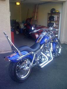 2003 Harley-davidson Wide Glide Custom Motorcycle
