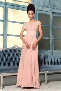 pink lace bridesmaid dresses pink lace cap sleeves applique tencel bridesmaid dress image 664279 on favim