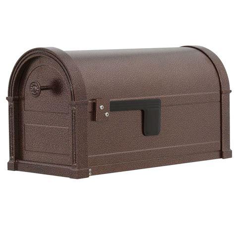 gibraltar mailboxes high grove copper vein steel post