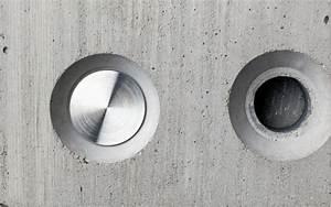 Spachtelmasse Für Betonwände : edle bindlochzapfen f r betonw nde aus albisbrunn albisbrunn ~ Sanjose-hotels-ca.com Haus und Dekorationen