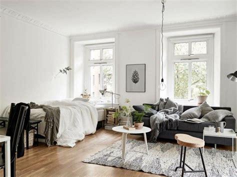 Wohnen Einrichten by 1 Zimmer Wohnung Einrichten Im Skandinavischen Stil