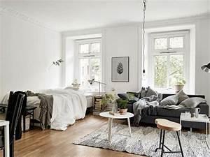 Kleine Wohnung Einrichten Ideen : 1 zimmer wohnung einrichten im skandinavischen stil room decoration pinterest ~ Sanjose-hotels-ca.com Haus und Dekorationen