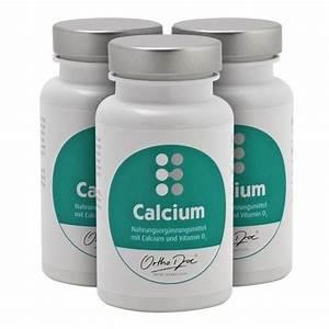 Vitamin D3 Berechnen : orthodoc calcium kapseln zum besten preis kaufen ~ Themetempest.com Abrechnung