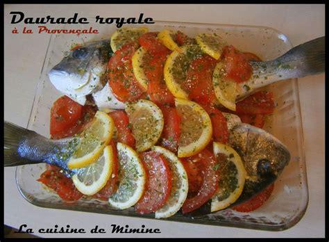 cuisiner dorade daurade royale au four écailles de tomate et citron la cuisine de mimine