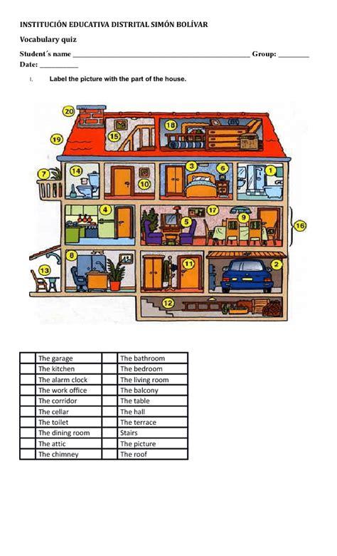 271 Free Houseflatrooms Worksheets