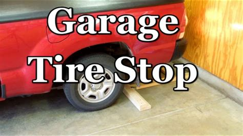vehicle wheel stop positive parking indicator