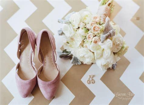 Soft White And Blush Wedding Bouquet · Allium Floral Design