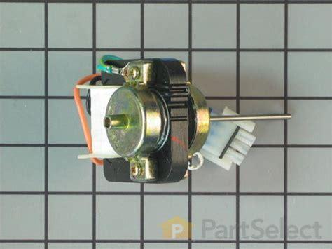 evaporator fan motor noise ge wr60x10172 evaporator fan motor partselect