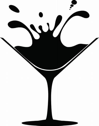 Martini Glass Clip Clipart Drawing Cocktail Cliparts