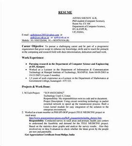 14 resume templates for freshers pdf doc free With freshers resume samples for software engineers