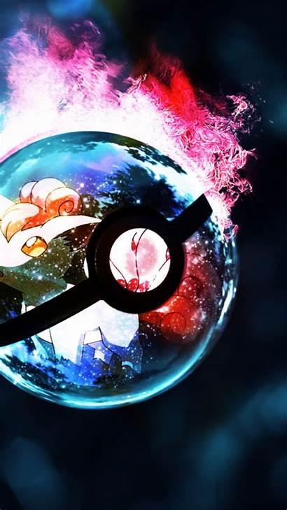 Pokemon Wallpapers Cool Pokeball Fusion Mobile Fire