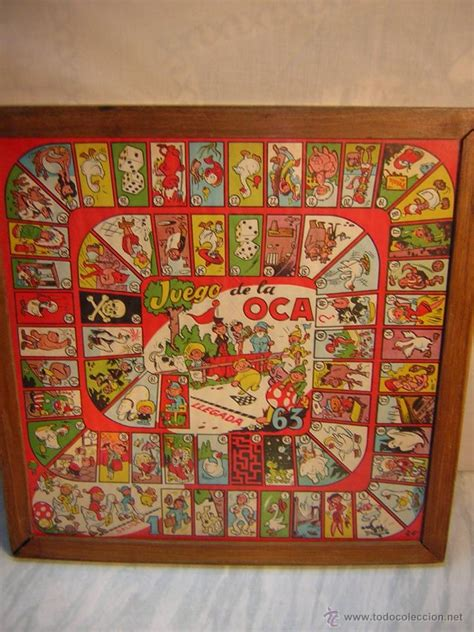 Comprueba tus experiencia de los juegos antiguos y exhibe quien eres. antiguo parchis y oca - enmarcado con cristal - - Comprar Juegos de mesa antiguos en ...