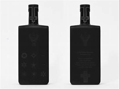 Jagermeister Bottle Sensitive Thermo Alcohol Packaging Jager