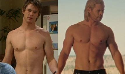 did chris hemsworth take steroids for thor