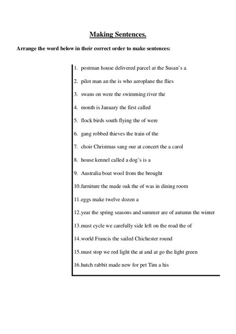 rearrange the letters to make a word worksheet turtle diary arrange the jumbled sentences 48184