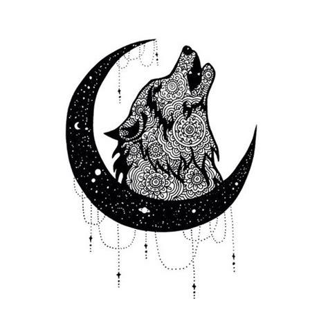 Mandala Wolf Tumblr