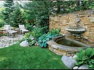 Splashy, Wall, Fountain, -, Sunset, Magazine